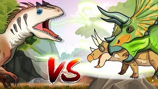 [Triceratops VS Allosaurus] Who would Win? Do you like Dinosaurs? I...