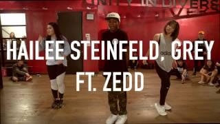 starving hailee steinfeld ft zedd choreography by anze