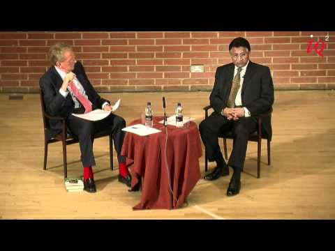 General Pervez Musharraf in conversation with Sir Christopher Meyer - IQ2 talk
