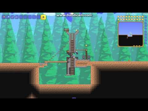 видео: Как построить замок в terraria #1 (Вход в замок)