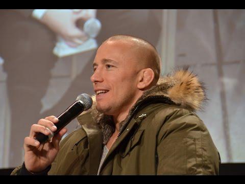 Showdown Joe Interviews George St-Pierre (GSP) at The Gentlemens Expo
