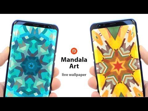 Mandala Art Live Wallpaper
