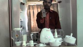 bajaj fx11 food processor demo watch hd read description