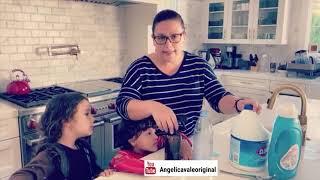 ¿Cómo hacer un desinfectante casero? Para eliminar el Corona Virus Angelica Vale te muestra como. YouTube Videos