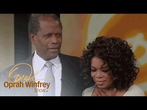Sidney Poitier's Heartfelt Surprise That Made Oprah Cry | The Oprah Winfrey Show | OWN