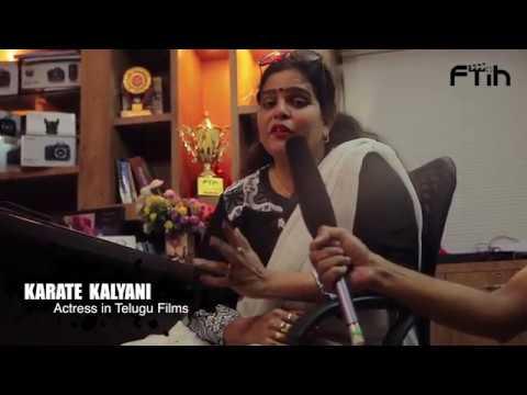 Actress Karate Kalyani Garu about Best Film Direction Institute|| FTIH Film School