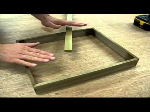 woodworking how to make a solid walnut picture frame by jon peters youtube
