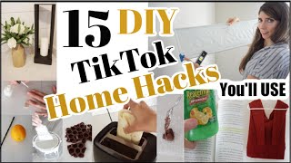 Testing 15 Viral TikTok Life Hacks & DIY Hacks + 15 Home Hacks that Work!