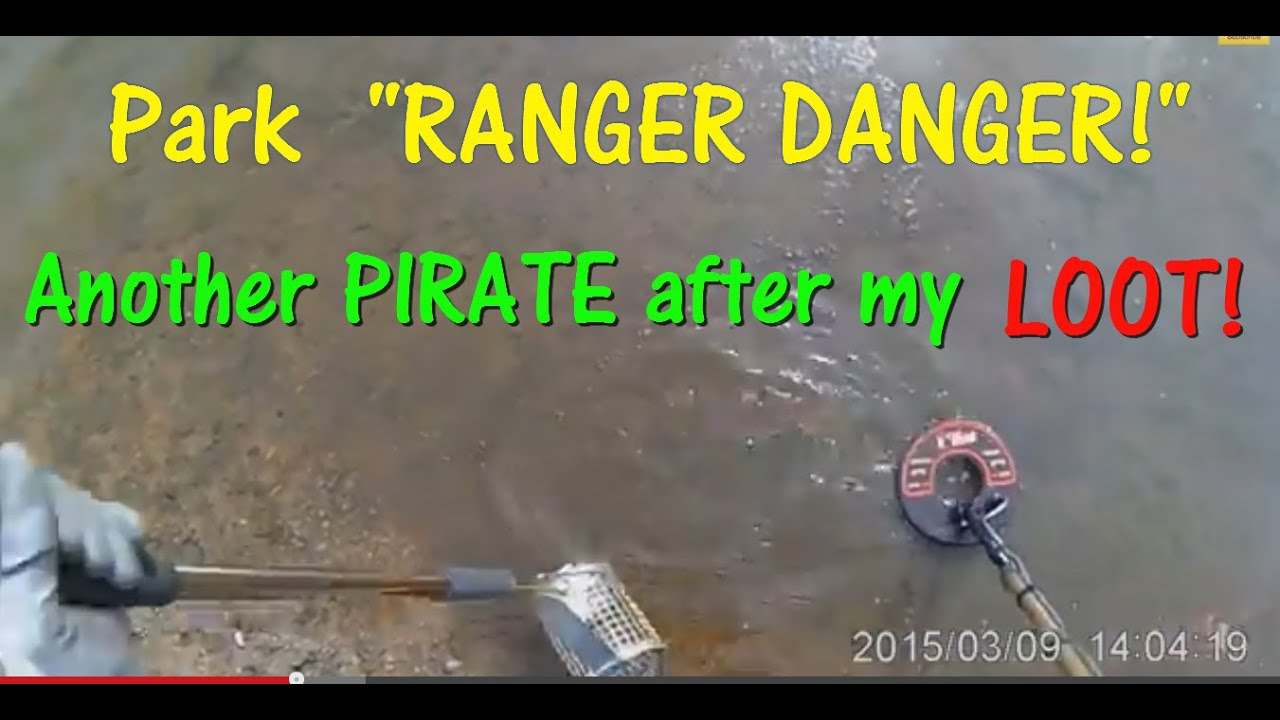 Metal Detecting a Beach  Park Ranger approaches me        See what  happens
