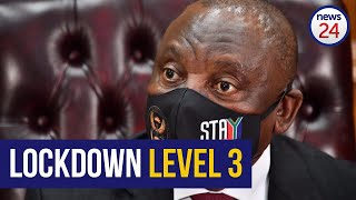 WATCH   Lockdown Level 3: Whole of SA will be lowered as of 1 June