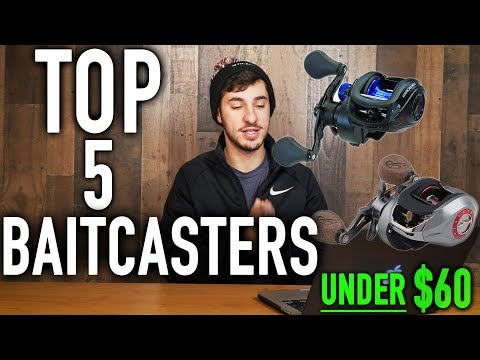 The BEST Baitcasting Reels under $60 (2019)