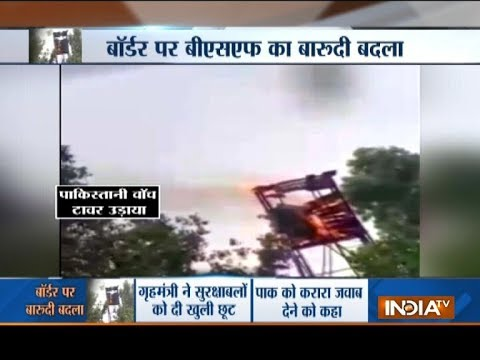 Jammu and Kashmir: India destroys Pakistan's watch tower and bunker only in 4 minute