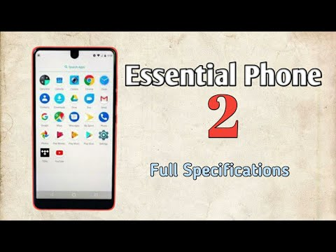 Essential Phone 2 Specifications