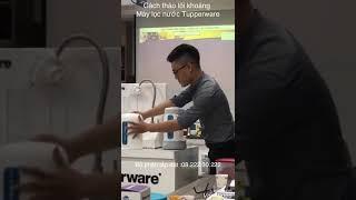 30s Cách tháo gỡ lõi khoáng chất từ máy lọc nước nano