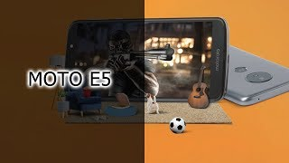 Обзор смартфона Moto E5