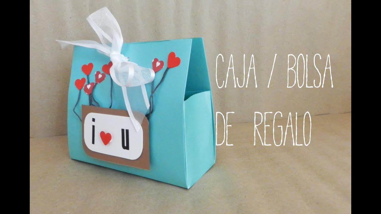 Cajita bolsa de regalo youtube - Como hacer bolsas de regalo ...
