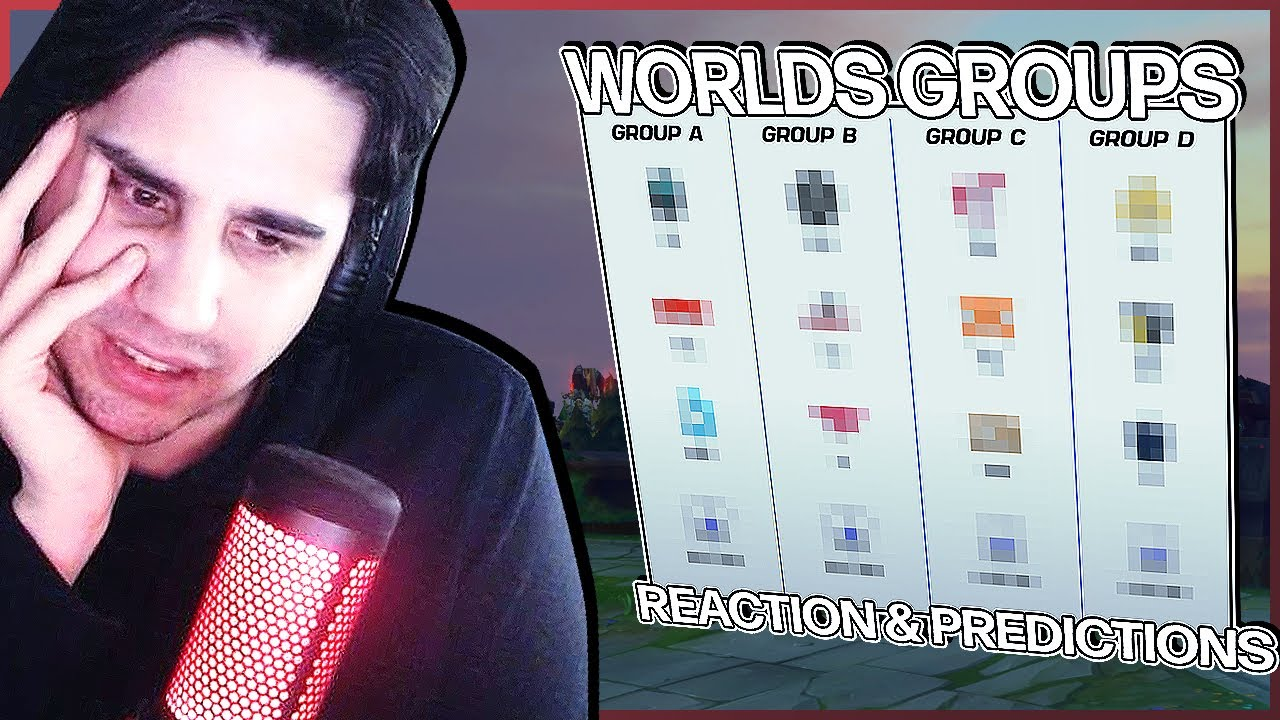 Download IWD Reacts to 2021 Worlds Group Draw Show | League of Legends