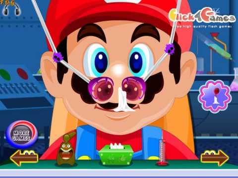 Игра Больница Лечим Нос - играть онлайн бесплатно