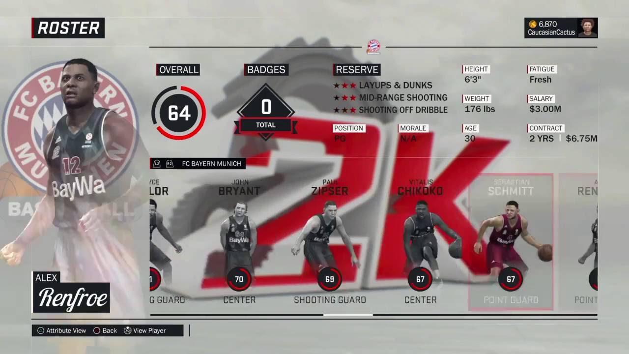 nba 2k17 how to change teams