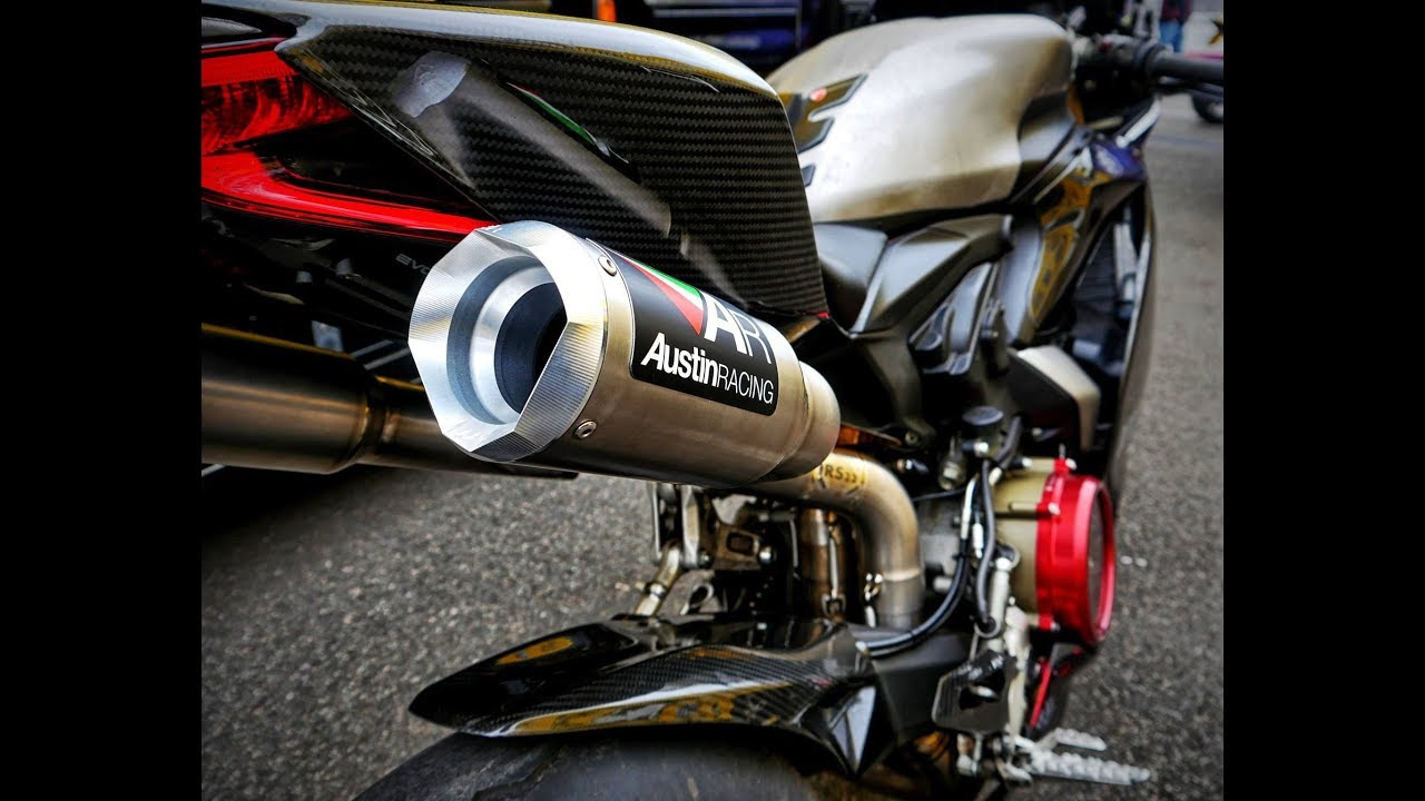 Ducati  Austin Racing Exhaust