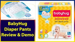 BabyHug Advanced Soft Diaper Pants Unboxing, Review & Demo |  FirstCry 2020 | BabyHug | Baby Diaper
