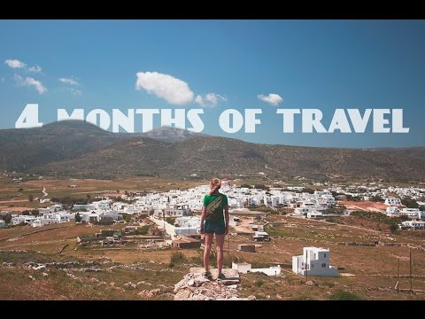 4 month travel adventure (GoPro and Canon 70d)