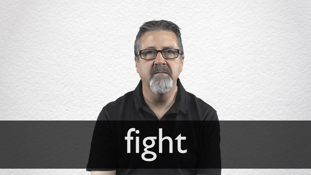 Fight Definition und Bedeutung  Collins Wörterbuch