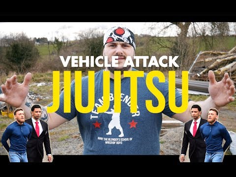 Vehicle Attack JiuJitsu: with Barry The Blender