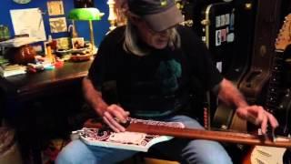 Bed Slat Steel Guitar