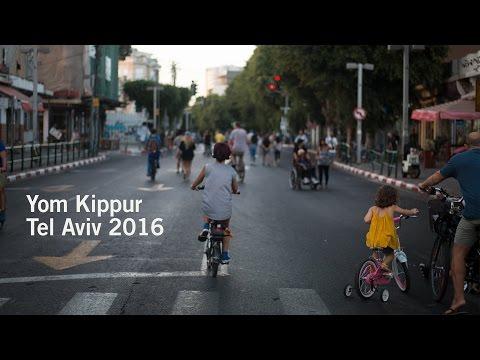 Yom Kippur 2016 in Tel Aviv