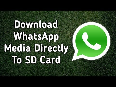 How To Change WhatsApp Default Download Location To SD Card|| Urdu Hindi || Data Storage