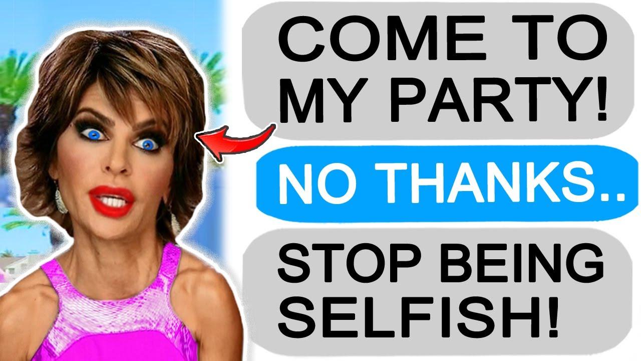 r/Entitledparents Karen Demands I Attend her Party!