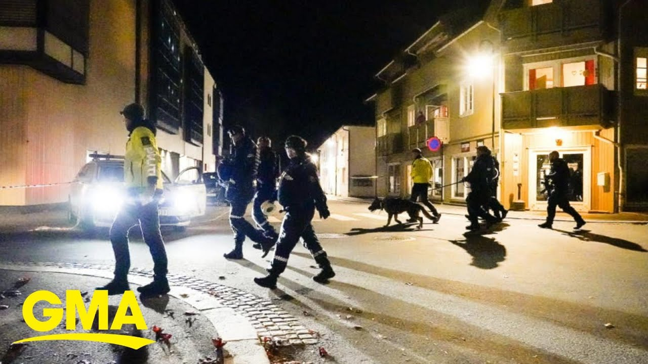 Download Danish man suspected of deadly bow-and-arrow attack in Norway l GMA