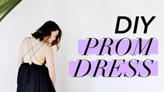 How to Make a PROM DRESS | WITHWENDY