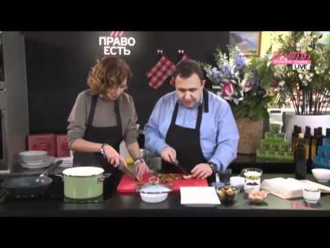 Татьяна Геворкян готовит сборную рыбную солянку