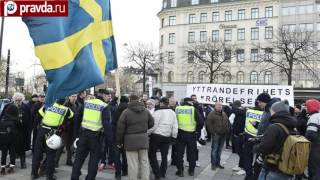 Migrants shower police with stones in Stockholm