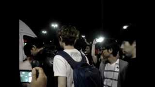 fancam 052012 exo leaving bcd tofu house
