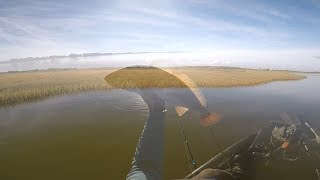 How to Catch Schooling Redfish on a Topwater!