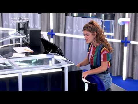 Amaia toca al piano MIEDO (MClan) | LOS MEJORES MOMENTOS | OT 2017
