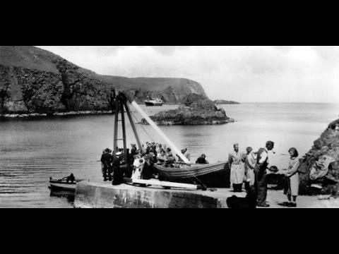 Old Photographs Fair Isle Scotland - YouTube