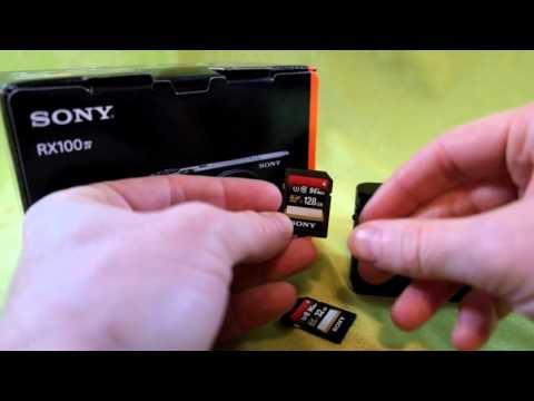 How to choose the right memory card so you can shoot 4K video with your Sony RX100 IV