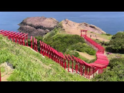 4K 元乃隅稲成神社  Motonosumi Inari Shrine in Yamaguchi
