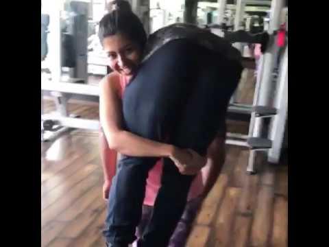 Kg Indian Girl Lift Carry Ots Her  Kg Boyfriend