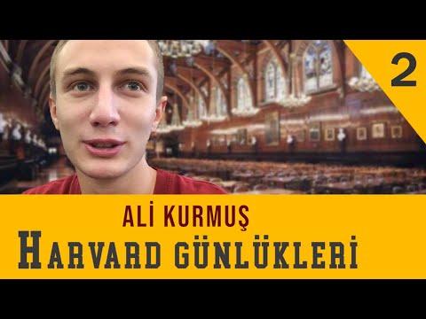 Ders Seçim Haftası - Ali Kurmuş - Harvard Günlükleri B02