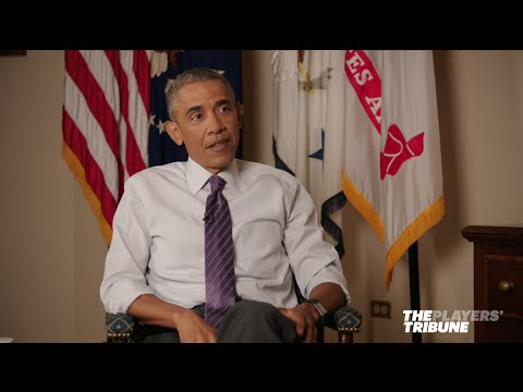 President Obama and Derek Jeter - Full Conversation