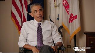 President Obama and Derek Jeter - Full Conversation