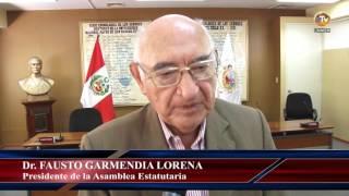 aei: Presentación de la Asamblea Estatutaria de la UNMSM
