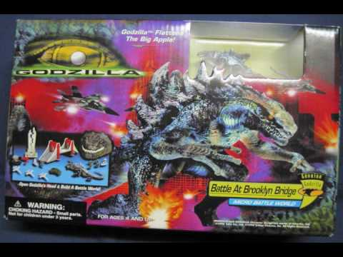 Awesome Ultimate Godzilla 1998 Toys Figure Collection ...
