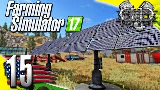 Farming Simulator 2017 Gameplay :EP15: Solar Panels, Conveyors, & CASH! (PC HD American Outback)