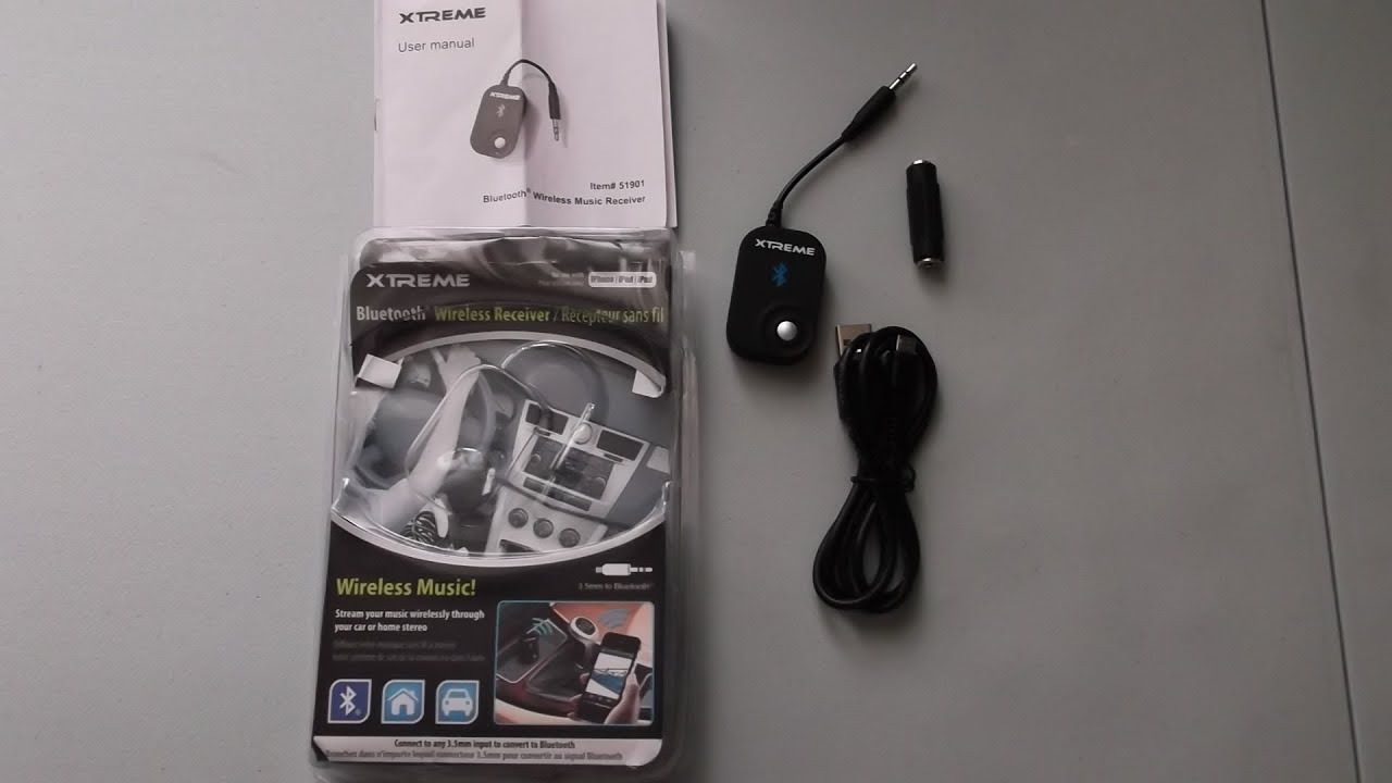 Xtreme - Bluetooth Wireless Music Receiver - Unpacking - #127